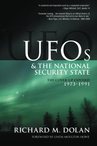 41TwnFl5bGL The Cover Up Exposed, 1973 1991 (UFOs and the National Security State, Vol. 2)