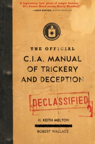 512MEja%2BDBL The Official CIA Manual of Trickery and Deception
