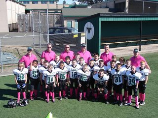 pink Pink Cancer Psyop Invades Boys Football